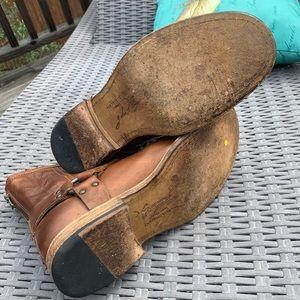 Frye Shoes - Frye John Addison Harness back zip Boots